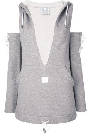 CHANEL Damen Sweatshirts - Sweatshirt im Deconstructed-Look