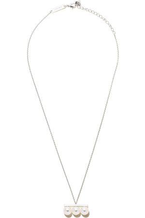Tasaki 18kt Weißgoldhalskette mit Diamanten