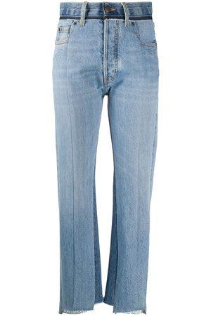 Maison Margiela Jeans mit Kontrasteinsatz