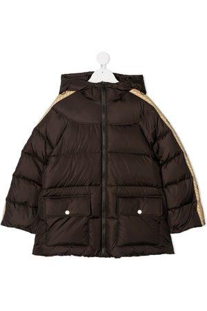 Gucci Jungen Winterjacken - Daunenjacke mit GG-Streifen