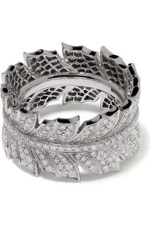 STEPHEN WEBSTER Damen Ringe - 18kt 'Magnipheasant' Weißgoldring mit Diamanten