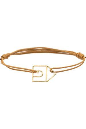 Aliita Armband Casita mit 9kt Gelbgold und Diamant