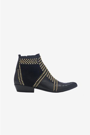 ANINE BING Charlie Boots In Studs
