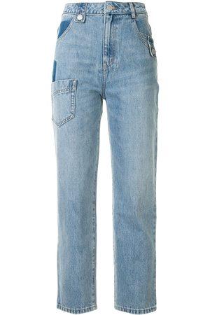 PORTSPURE Damen Straight - Jeans mit geradem Bein