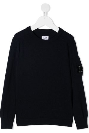 C.P. Company Kids TEEN Pullover mit Linsen-Detail