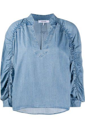 Frame Geraffte Bluse