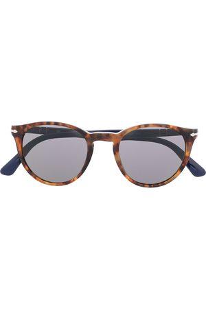 Persol Herren Sonnenbrillen - Runde 'PO3152S' Sonnenbrille
