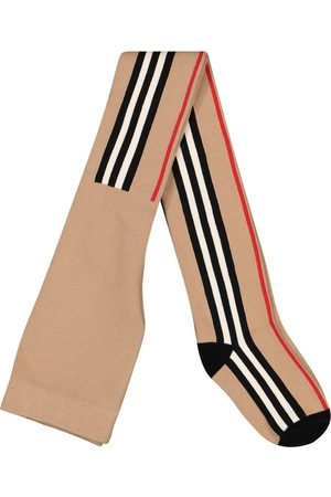 Burberry Strumpfhose Icon Stripe