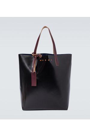 Marni Tote Bag aus PVC mit Logo
