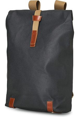 Brooks Brothers Pickwick Cotton Canvas 26L Backpack Grey Honey