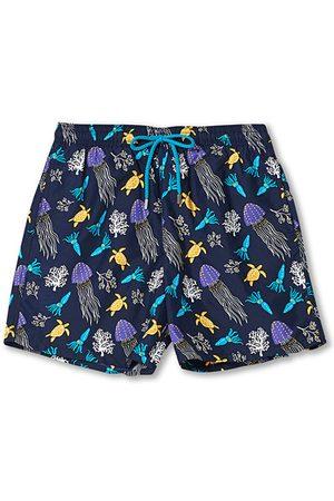 Vilebrequin Herren Badehosen - Moorea Swim Shorts Navy Blue