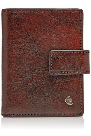 Castelijn & Beerens Kreditkartenetui Geldfach 10 Karten RFID, Cognac