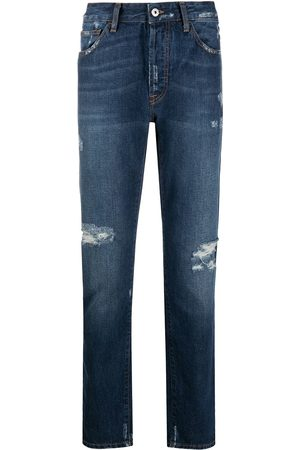 MARCELO BURLON Herren Slim - Wings' Skinny-Jeans