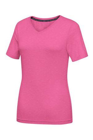 """Joy Sportswear T-Shirt """"ZAMIRA"""", atmungsaktiv, taillierter Schnitt, V-Ausschnitt, pink, 42"""