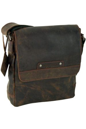 Greenburry Vintage Revival Vol.2 Messenger Leder 24 cm, antikbraun