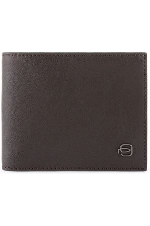 Piquadro Black Square Geldbörse Leder 11 cm, dark brown