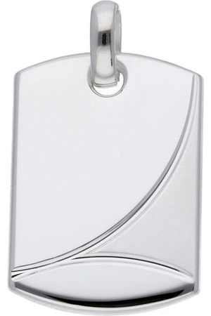Adelia's Damen Silberschmuck 925 Gravurplatte Anhänger, , onesize