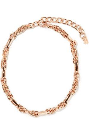 Lauren Rubinski Varied-link 14kt Rose- Necklace