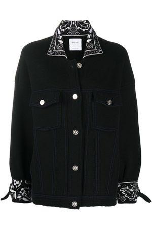 Barrie Damen Jacken - Kaschmirjacke im Oversized-Look