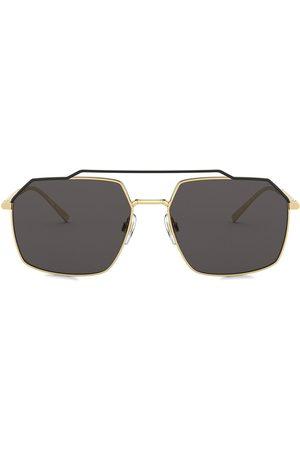 Dolce & Gabbana Sechseckige Sonnenbrille