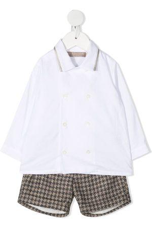 LA STUPENDERIA Set aus Hemd und Shorts