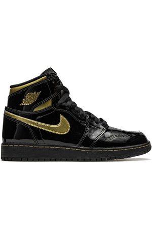 Nike Air Jordan 1 Retro High OG Black Metallic Gold' Sneakers