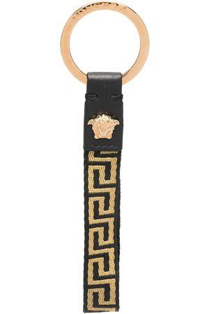 VERSACE Schlüsselanhänger mit Greca-Logo