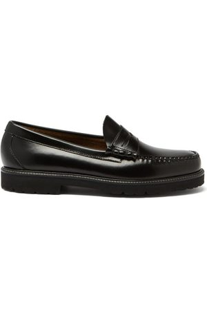 G.H. Bass & Co. Weejuns 90s Larson Leather Penny Loafers
