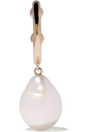 Mizuki 14kt Ohrringe aus Gelbgold mit Perlen