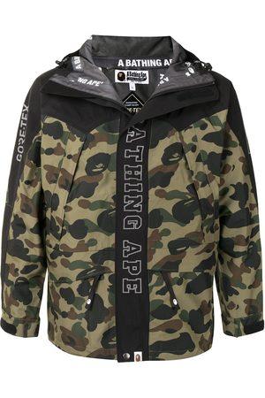 A Bathing Ape Herren Outdoorjacken - Jacke mit Camouflage-Print