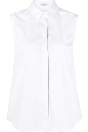 Brunello Cucinelli Damen Blusen - Geknöpftes Hemd