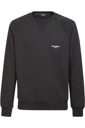 Balmain Sweatshirt Aus Baumwolle