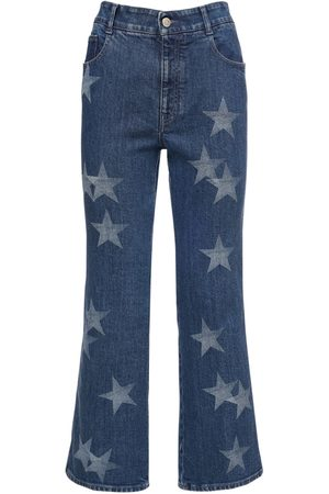 Stella McCartney Kürzere Jeans Aus Eco-baumwolldenim