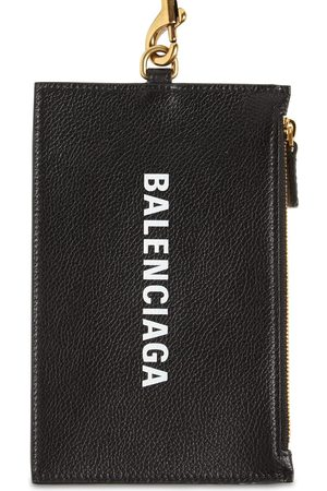 Balenciaga Geldbörse Aus Leder Mit Logo Und Reisepass