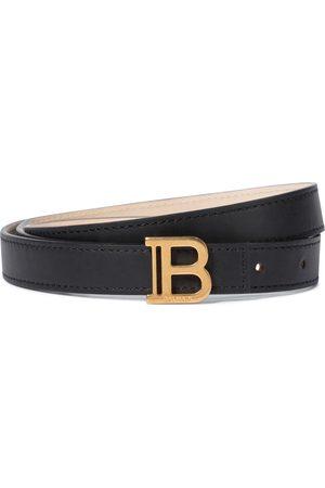Balmain Gürtel B-Belt aus Leder