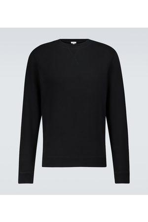 Sunspel Sweatshirt aus Loopback-Baumwolle