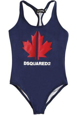 Dsquared2 Badeanzug Aus Lycra Mit Logodruck