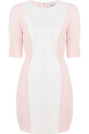 Dior Pre-owned Kleid in Colour-Block-Optik