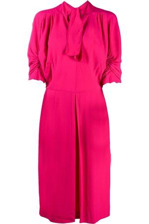 Marni Kleid mit gerafften Ärmeln