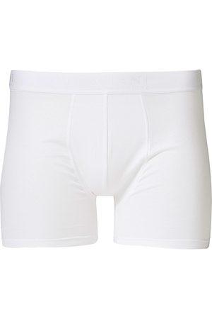 Bresciani Herren Boxershorts - Cotton Boxer Trunk White
