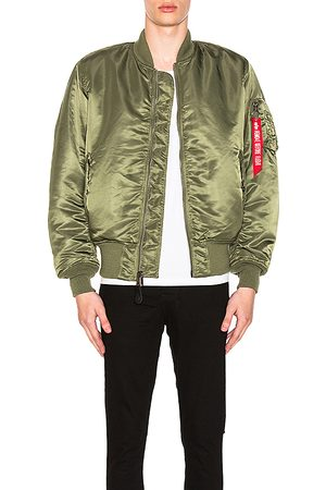 Alpha Industries Bomberjacke MA-1 Blood Chit in . Size S.