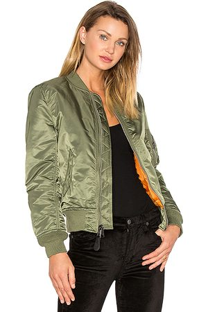 Alpha Industries MA-1 W Bomber in . Size M, S, XS.