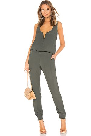 MONROW Damen Jumpsuits - Crepe-Overall in . Size M, S, XS.