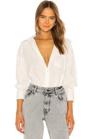 ANINE BING Mika Shirt in . Size M, S.
