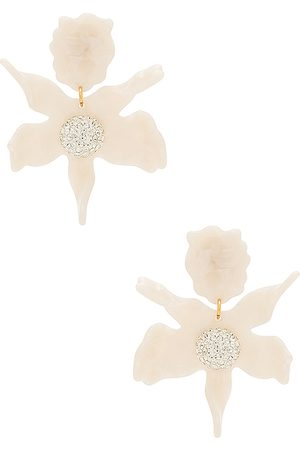 Lele Sadoughi Crystal Lily Earring in .
