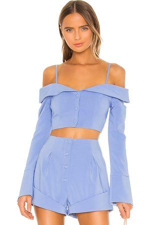Camila Coelho Damen T-Shirts, Polos & Longsleeves - Paulina Top in . Size M, S, XL, XS, XXS.