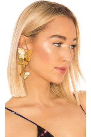 Jennifer Behr Alessandra Clip On Earrings in .