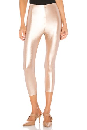 Commando Perfect Control Faux Leather Capri in . Size M, S.