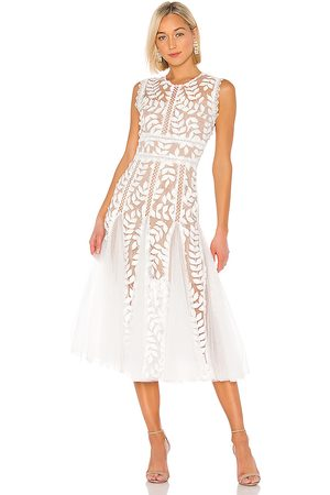 Bronx and Banco Saba Blanc Midi Dress in . Size M.