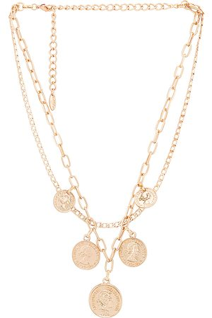 Ettika Layered Coin Necklace in .